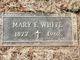 Mary Elizabeth <I>Tawney</I> White