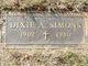 Dixie Audrey <I>White</I> Simons