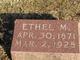 Ethel M Wilson