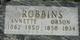 Annette <I>Burgess</I> Robbins
