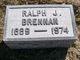 "Profile photo:  Raphael Jacob ""Ralph"" Brennan"