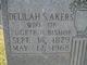 Delilah Susan <I>Akers</I> Bishop