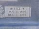 Myrtle <I>Whitmire</I> Edens