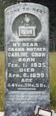 "Nancy Caroline ""Carline"" <I>Kemp</I> Crow"