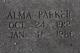 Alma Parker