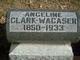 Angeline Matilda <I>Clark</I> Wacaser