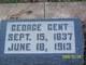 Profile photo:  George Gent