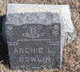 Archie L Bowlin