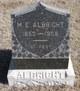 M E Albright
