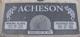 Marsha Elaine <I>Jacobson</I> Acheson