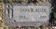 Anna Margaret <I>Vocke</I> Allen