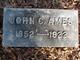 Profile photo:  John C Ames