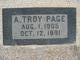 Profile photo:  A Troy Page