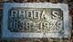 Rhoda Sophia <I>Scribner</I> Roath