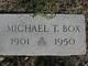 "Michael Thomas ""Tommy"" Box"