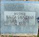 Malisa <I>Center</I> Caughman