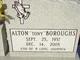 "Profile photo:  Alton ""Tony"" Boroughs"