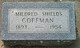 Mildred May <I>Shields</I> Coffman