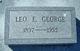 """Profile photo:  Leo Edgar """"Lee"""" George"""
