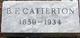 B. F. Catterton