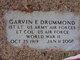 Profile photo:  Garvin Eldred Drummond
