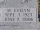 "Mary Evelyn ""Evelyn"" <I>Jenkins</I> Martin"