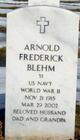 Arnold Frederick Blehm