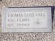 Thomas Goss Hall