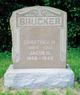 Jacob H Brucker
