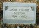 Marie Josephine Barbra <I>Eggert</I> Melton