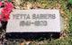 """Henrietta """"Yetta"""" <I>Pfeiffer</I> Sabiers"""