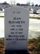 Jean Elizabeth <I>Rice</I> Blehm
