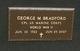 Profile photo:  George M. Bradford