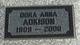 Dora Anna Adkison
