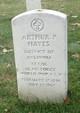 Profile photo: LTC Arthur P. Hayes