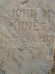 PVT John M Hines