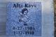 Profile photo:  Alta Kays