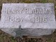 Pvt Henry Robert Adams