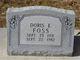 Doris Elaine <I>Hill</I> Foss