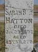 Sarah B Hatton