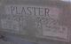Cecil Plaster