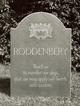 Thaddeus Hall Roddenbery