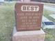 PVT Earl Phillip Best
