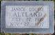 Janice Louise Altland