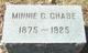 Minnie Comstock <I>Westover</I> Chase