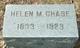 Helen M. <I>Larkin</I> Chase