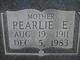 Pearl Edna <I>Thomason</I> Stewart