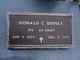 Donald C Disney