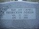 Mary Jane <I>Campbell</I> Iverson-Fredrickson