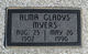 Profile photo:  Alma Gladys <I>Humphrey</I> Myers